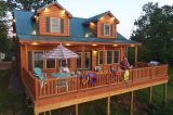 Toledo Bend Lakefront Cabin Vacation Rental