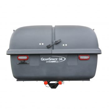 Oversized Hitch Mounted Cargo Carrier for rent