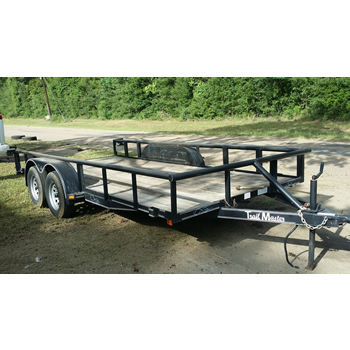 Trailer for rent - 16ft Tandem Axle Bumper Pull Trailer