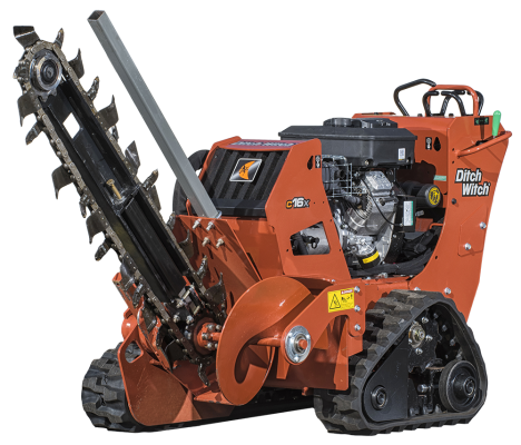 Trencher Rental - Ditch Witch C16X 36in Depth