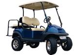 Golf Cart Rental - Club Car with 6 Inch Lift