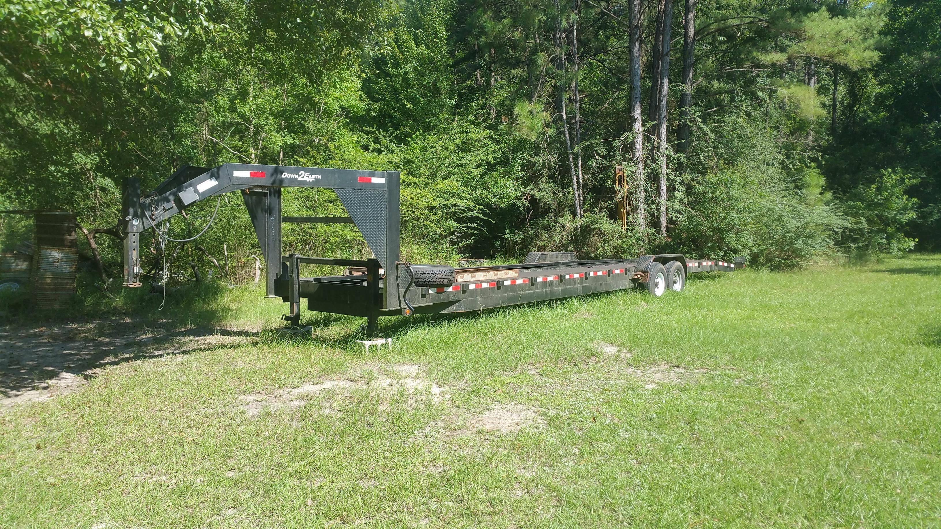 Car Hauler Trailer Rental - 38ft Dual Axle
