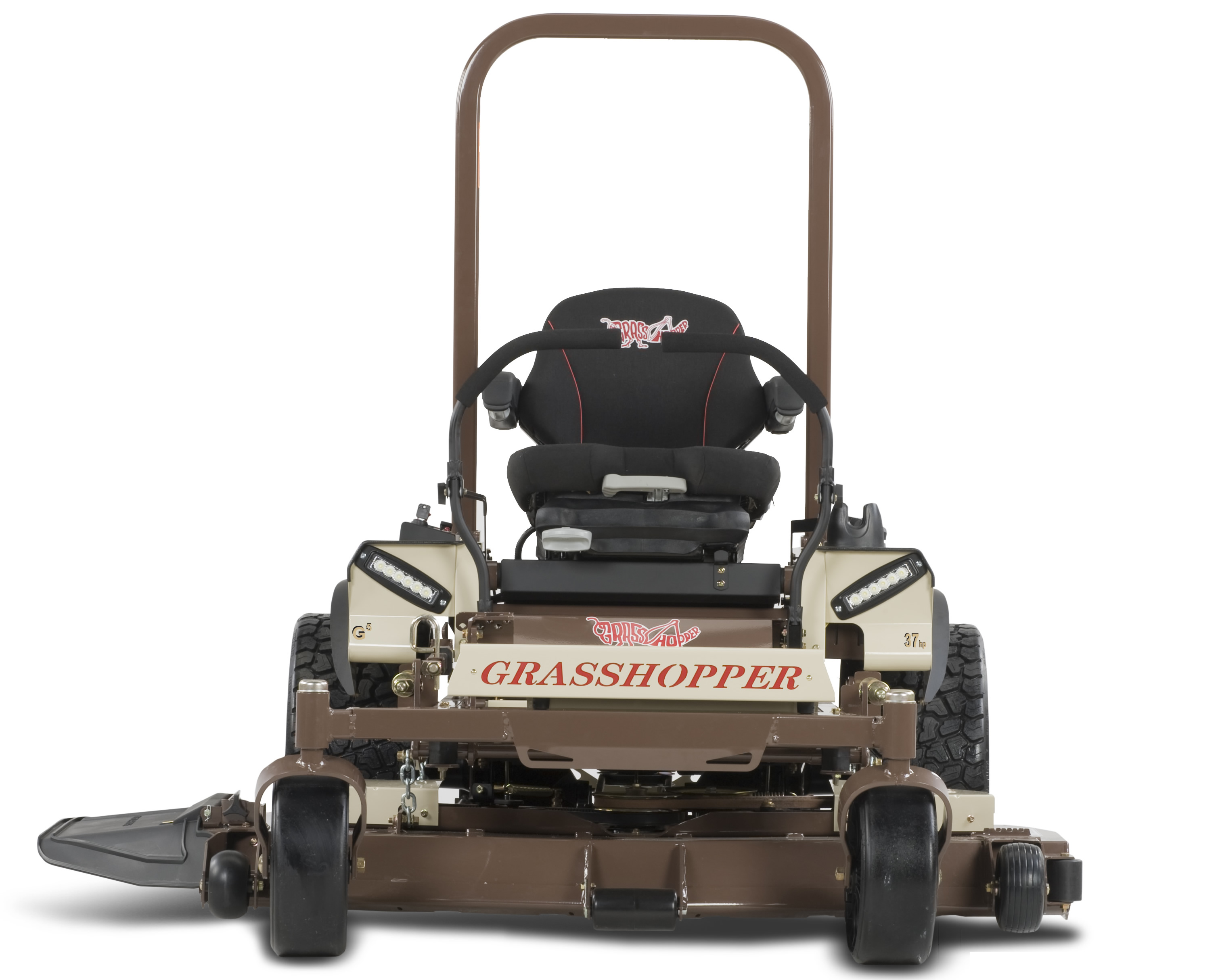 Mower Rental - Grasshopper 337G5 61-inch Zero Turn with 37HP Vanguard Engine