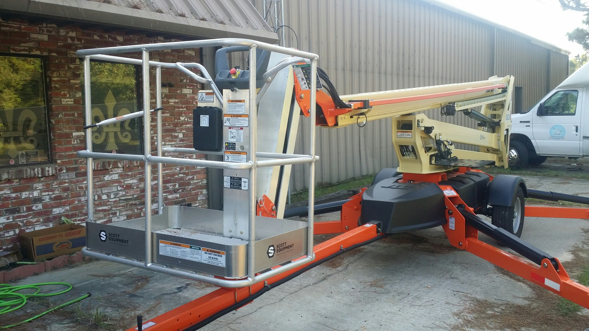 Man Lift / Boom Rental DeRidder