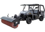 Angle Broom Road / Driveaway Sweeper Rental -  72 inch