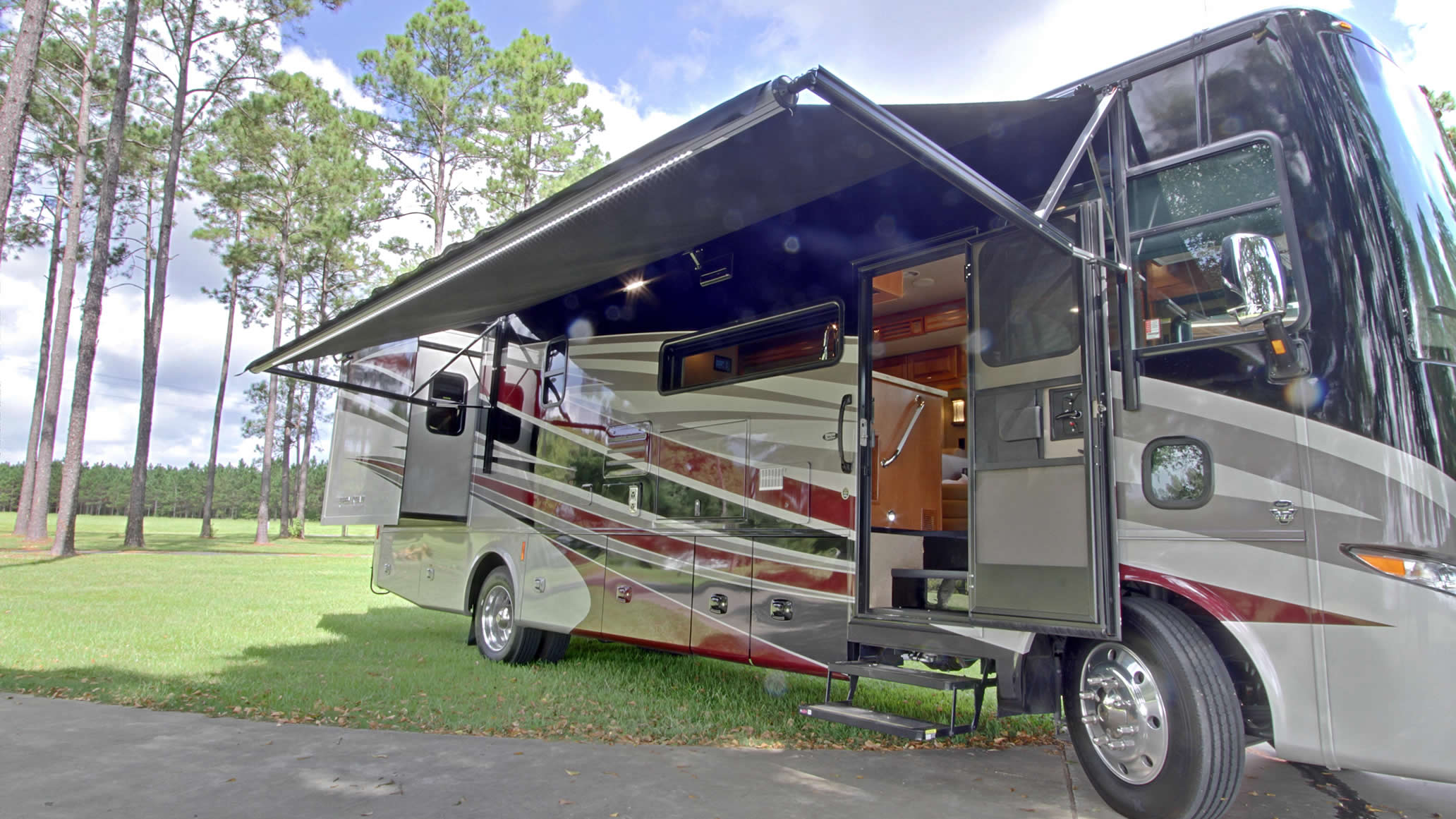 Louisiana RV Rental - DeRidder Leesville Fort Polk Shreveport Alexandria Lake Charles
